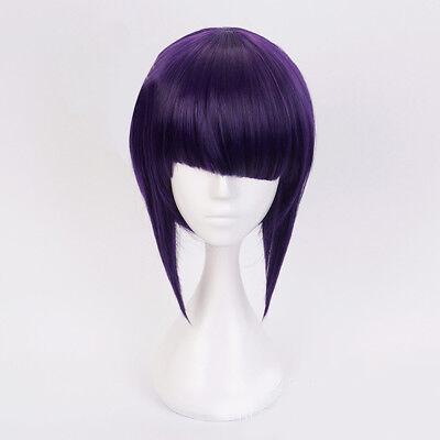 Short Anime  Lolita Fancy Purple Cosplay Wig Halloween - Halloween Short