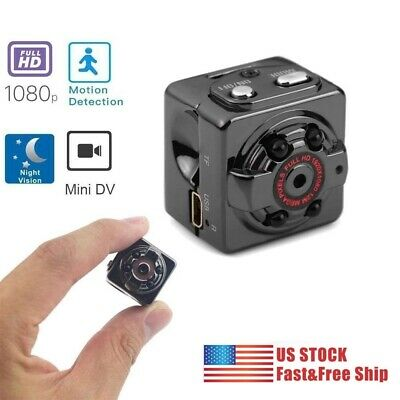 Mini Spy Hidden Camera 1080P Portable Small HD Nanny Cam US Stock