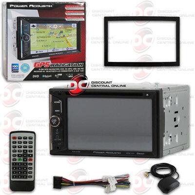 "POWER ACOUSTIK PDN-623B 6.2"" CAR 2DIN DVD CD BLUETOOTH GPS STEREO W/ USB INPUT"