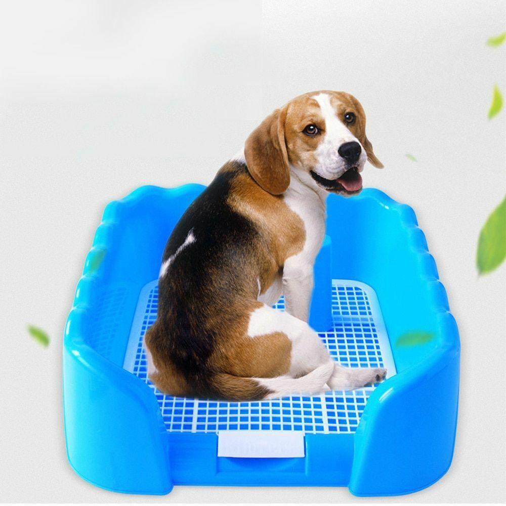 portable pet litter box dog indoor training