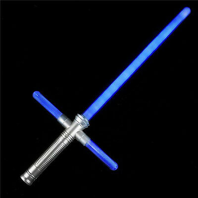 Star Wars Cross Style Lightsaber - With blinking and flashing - Lightsaber Glow Stick