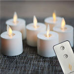 Luminara Tea Lights Ivory 6 Packs picture
