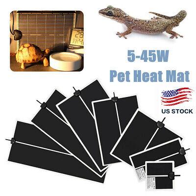 Electric Pet Mat Heating Pad Reptile Tank Warmer With Temperature Controller -