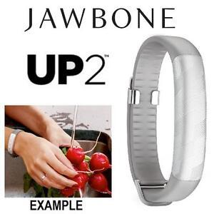 NEW JAWBONE UP2 ACTIVITY TRACKER LIGHT GREY HEX - HEALTH - HEART RATE ACTIVITY FITNESS SLEEP TRACKER - SEALED 88860804