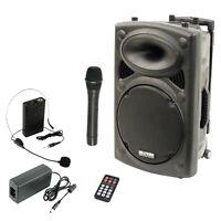 Fiesta Sonido Altavoz Sistema Planta 800 Watt Por Radio Auriculares Usb -  - ebay.es