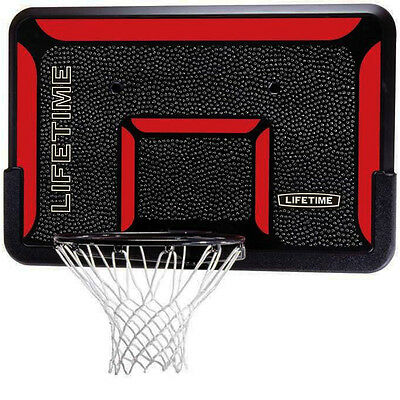 Indoor Wall Mounted Basketball Back Board Rim with Impact Hoop Net Sports - Impact Sports Goal