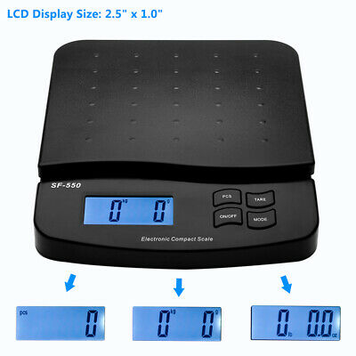 Sf-550 66lb X 0.1oz Digital Postal Shipping Scale 30kg Weigh Postage Counting Us