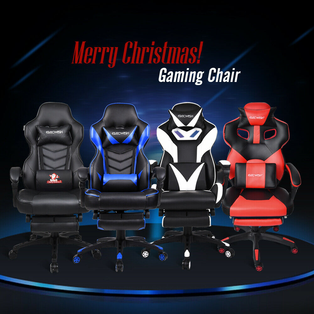 Video Gaming Chair Executive Swivel Racing Style Desk Task O