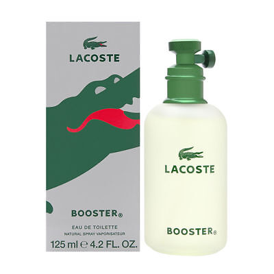 Lacoste Booster by Lacoste for Men 4.2 oz EDT Spray Brand New