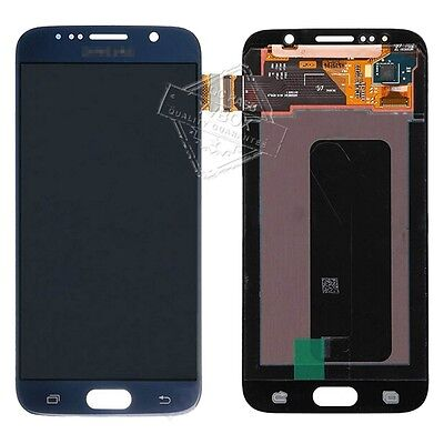 Sbi Dark Blue Samsung Galaxy S6 Sm G920 Lcd Touch Digitizer Full Screen Combo