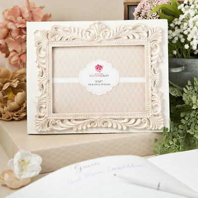 Vintage Design Wedding Guest Book With Front 5