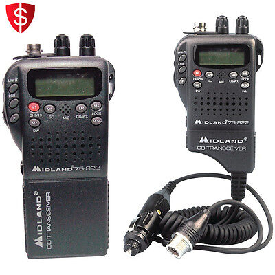 40 Channel CB Radio Way Portable Handheld Transceiver Mobile Communication
