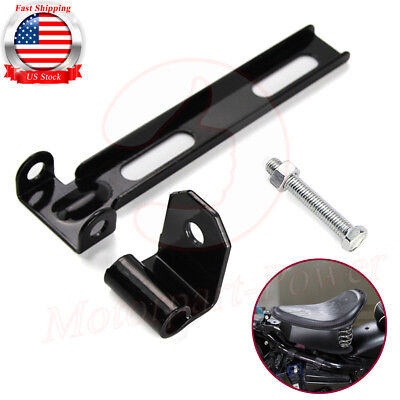 Motorcycle Universal Solo Seat Mount Bracket Hardware For Harley 883 Cafe (Cafe Bracket)