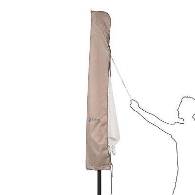 schutzhaube sonnenschirm schirm 3 m hulle abdeckung schutzhulle grun. Black Bedroom Furniture Sets. Home Design Ideas