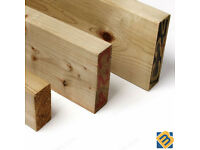 Treated Timber 2x2 3x2 4x2 6x2 8x2 - Tanalised Pressure Treated Timber C16 C24