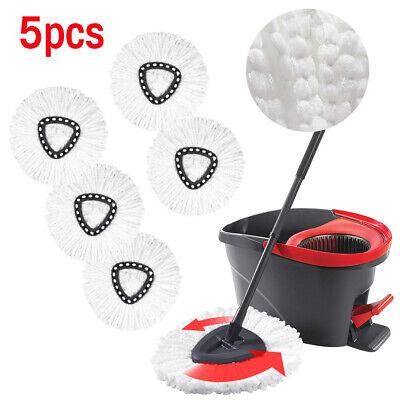Replacement Microfiber Mop Head Easy Clean Wring Refill For O-Cedar Spin Mop USA Mop Head Refill