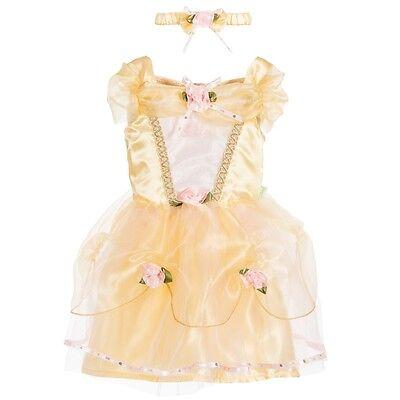 Offiziell Baby Kleinkind Disney Boutique Belle Schönheit Prinzessinnenkleid ()