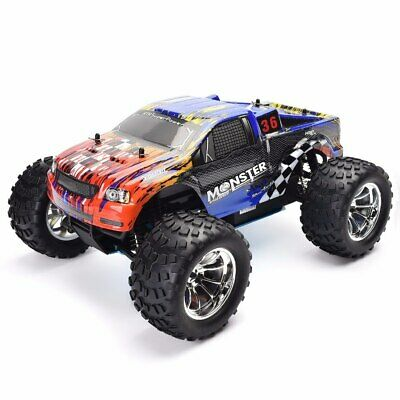 HSP 1/10 Scale Rc Car Monster Truck 4wd Off Road Nitro Gas Powered RC Tool Kits ()