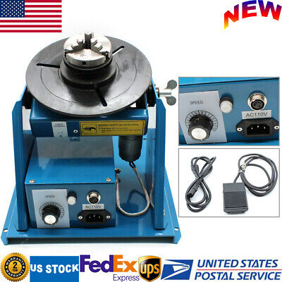 110v Automatic Welding Positioner Rotary Welding Positioner Turntable Table 15w