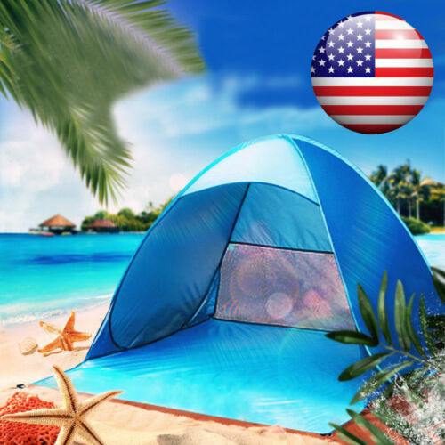 Portable Automatic Pop Up Beach Canopy Sun UV Shade Shelter
