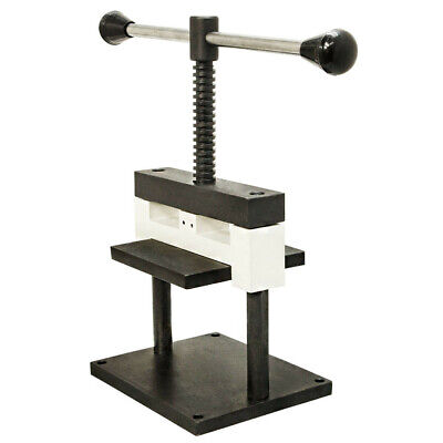 Manual Sheet Metal Hand Punch Press Cutter Metal Holding Vise Jeweler 2mm Thick
