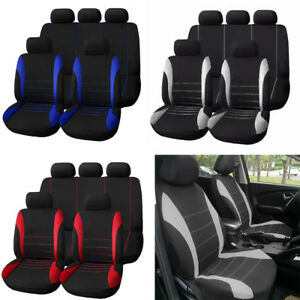 Auto Car Seat Covers 9 Set Full Car Styling Seat Cover for Interior Accessories