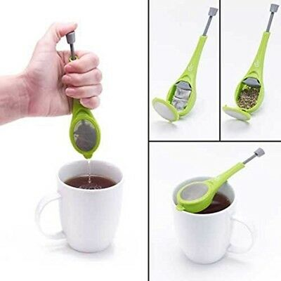 - Tea Infuser Loose Tea Leaf Strainer Herbal Spice Silicone Filter Diffuser