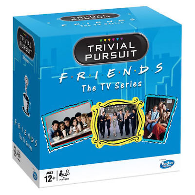 FRIENDS TV SERIES TRIVIAL PURSUIT BITE SIZE GAME - OVER 600 QUESTIONS BRAND NEW