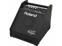 Roland PM10 Drum Monitor Amplifier clean tested excellent V Drums line in