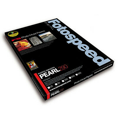 Fotospeed Photo Smooth Pearl 290gsm Inkjet Paper. A4 - 50 Sheets. Pro Inkjet - Pearl Smooth Inkjet Paper