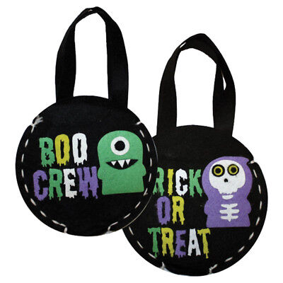 Haunted Halloween Boo Crew Monsters Party Trick or Treat Bag Craft Activity Kit