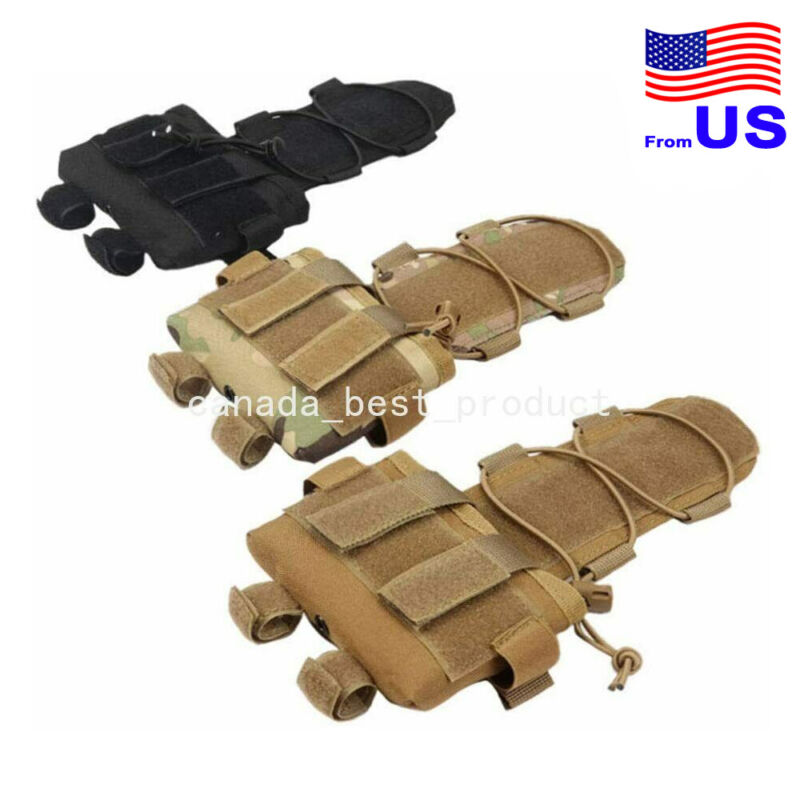 Tactical Airsoft Helmet Battery Pouch Balance Weight Bag Counterweight Pack USA