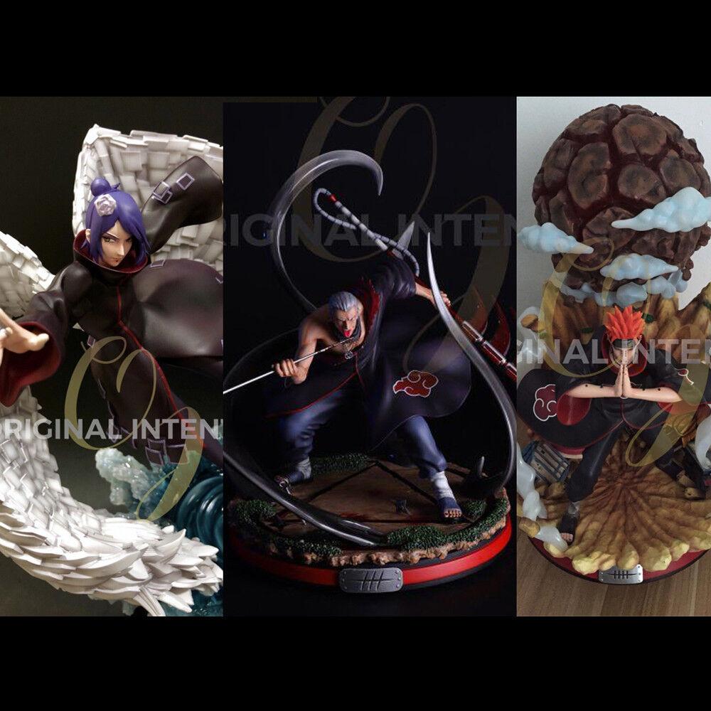 Naruto Akatsuki Hidan Model Resin Statue GK Led Light Death Figure Pre-order
