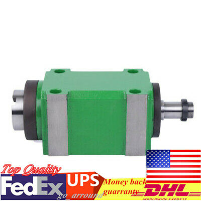 6000 Rpm Mechanical Power Head Drawbar Bt30 Taper Spindle Unit For Milling