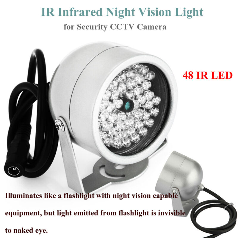 1pcs 48LED High Quality IR Infrared Night Vision Light for Security CCTV Camera
