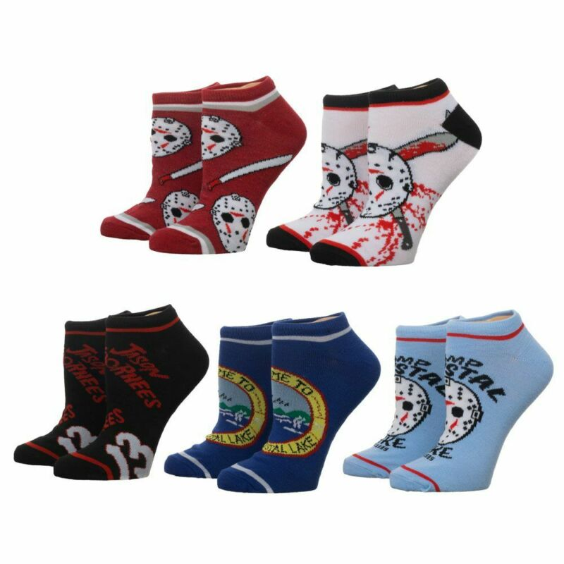 Friday the 13th 5-pair Ankle Socks