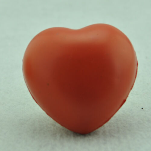 Heart Shaped Soft Squeeze Foam Ball Hand Wrist Exercise Stress Relief Reliever