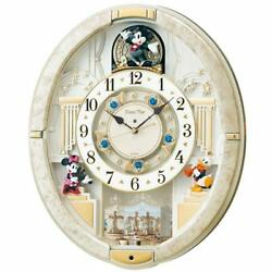 SEIKO CLOCK wall clock mickey mouse Radio Analog Trick 12 songs melody FW580W JP