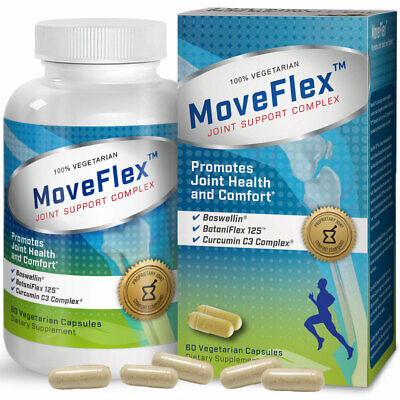 Bronson MoveFlex Joint Support Complex, 60 Vegetarian Capsules