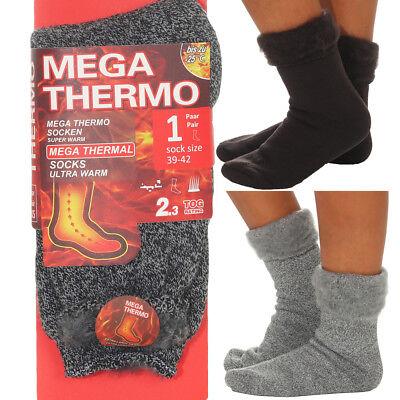 Thermo Socken Herren Damen Winterstrümpfe Wintersocken Warme Strümpfe bis -25°C
