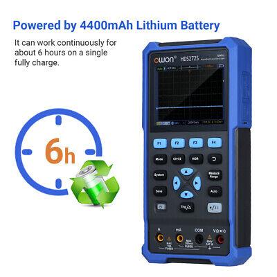 Hds272s Digital Oscilloscope Multimeter 20000 Counts For Automotive Electronic