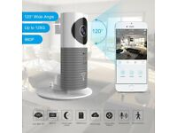 Wireless security wifi camera,960P 120°Wide Angle Lens