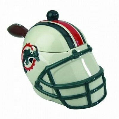 Miami Dolphins Football Helmet NFL Soup Tureen or  Serving Bowl