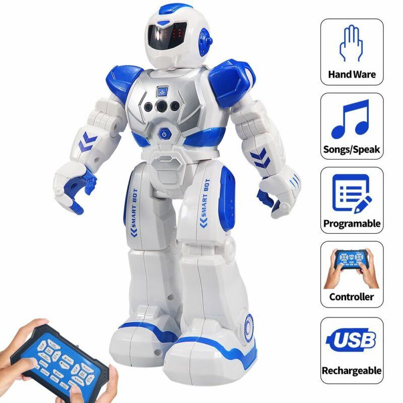 Kinder RC Roboter Ferngesteuerter Spielzeug Tanzen Singen Geste Sensor Geschenk