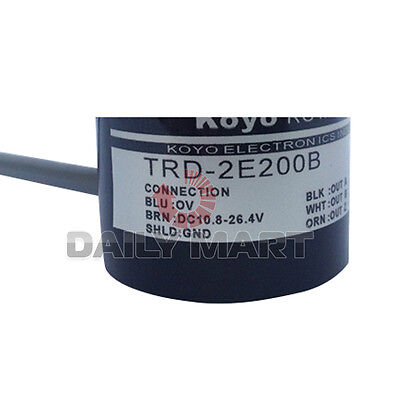 New In Box Koyo TRD-2E200B Contactless Rotary Encoder Industrial Automation New