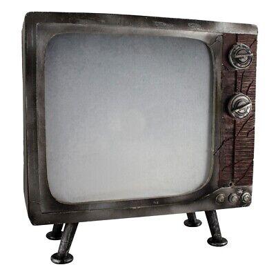 Haunted TV Prop Animated Antique Television Poltergeist Halloween Decoration