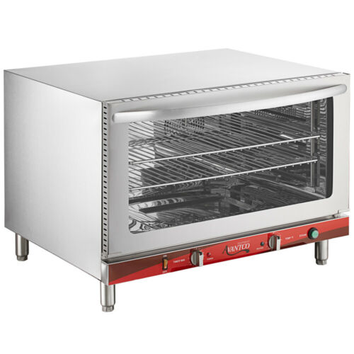 Avantco Full Size Countertop Convection Oven with Steam Injection,