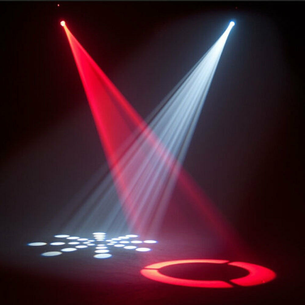 30w Rgbw Gobos Spot Stage Lighting Led Moving Head Lights