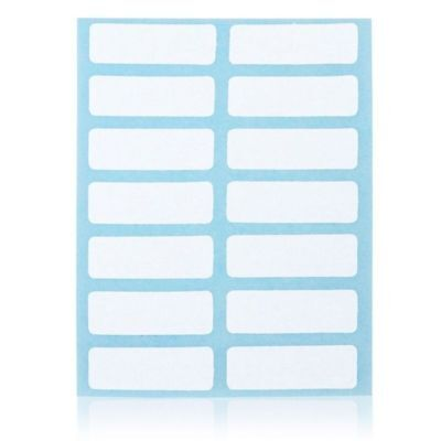 Writable Sticky Name Stickers Price Sticker Blank Note Labels Name Number Tags