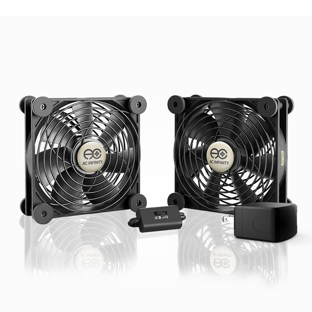 MULTIFAN S7-P, Quiet Dual 120mm AC-Powered Cooling Fan for R